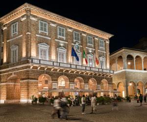 Stratégie de conception d'éclairage - Piazza della Libertà