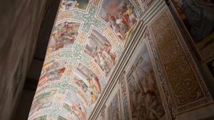 Le complexe du Sancta Sanctorum. Éclairer les lieux sacrés.