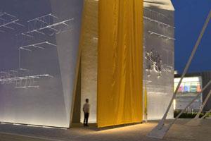 "der ""Heilige Stuhl""Pavillon Expo Milano 2015"