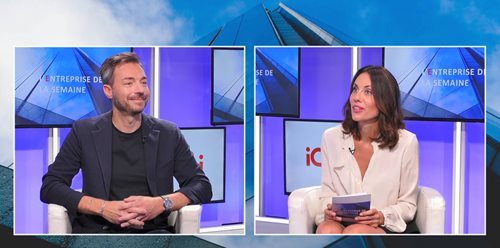 Renaud Lièvre, Regional Director France & French Speaking Africa, presents iGuzzini at CNews