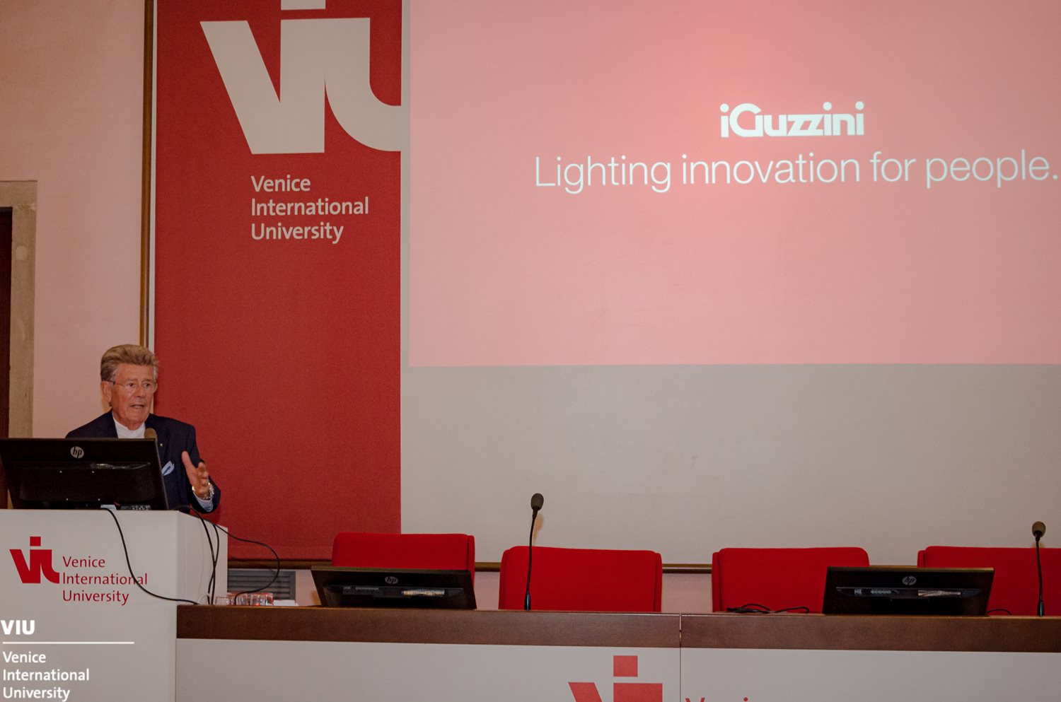Adolfo Guzzini opens the academic year at the Venice International University