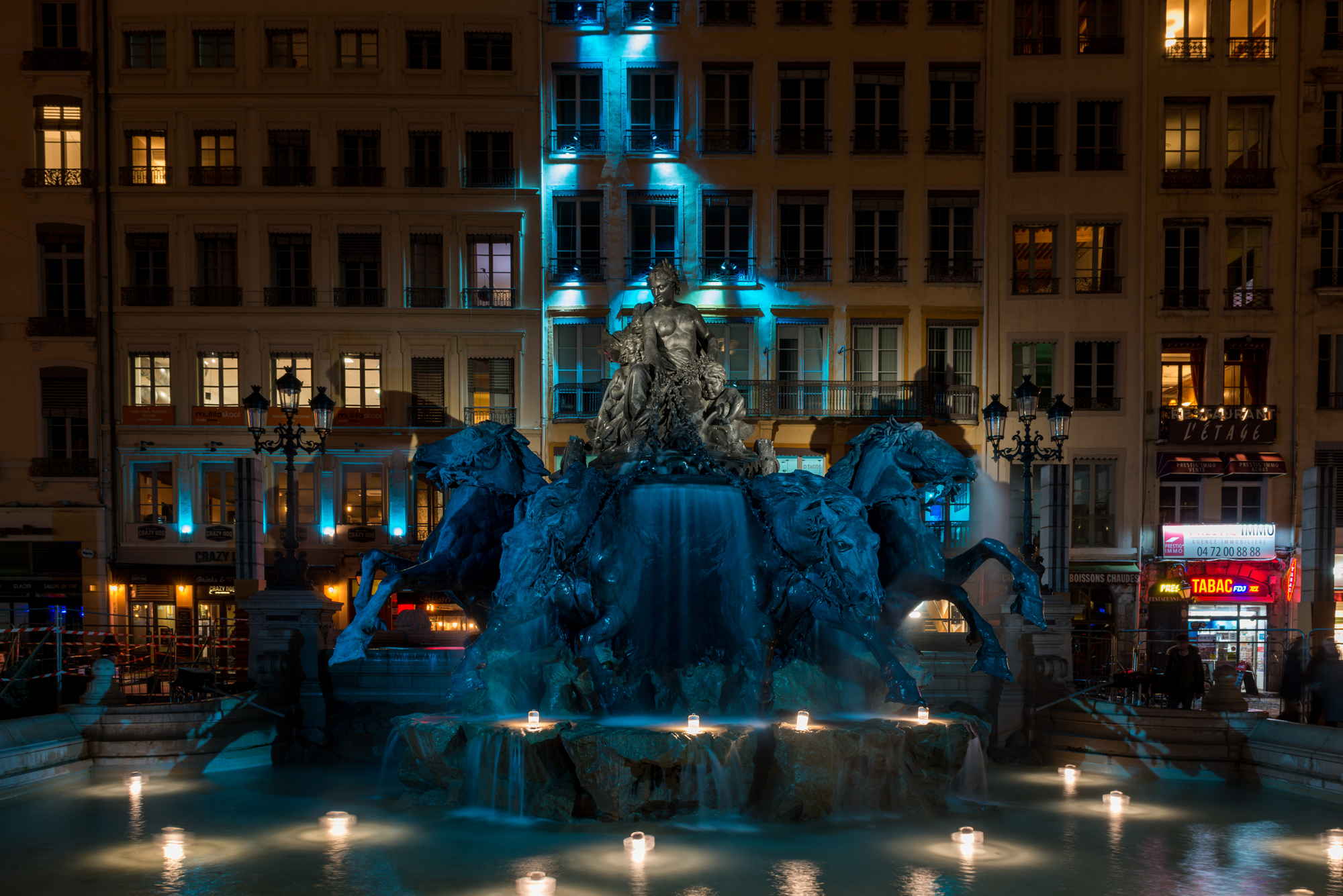 iGuzzini at the Festival of Lights in Lyon