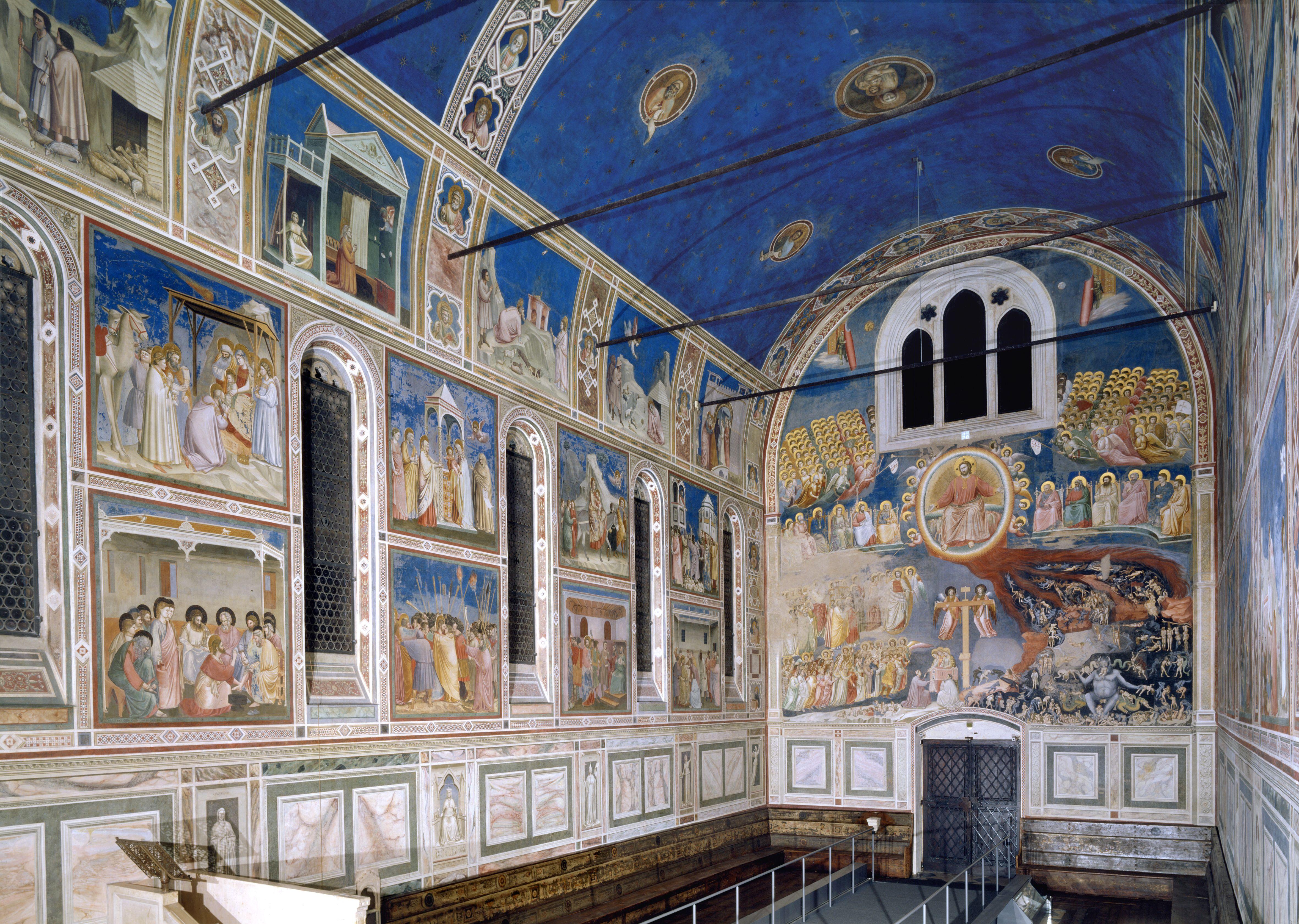 Giotto's Cappella degli Scrovegni - Padua