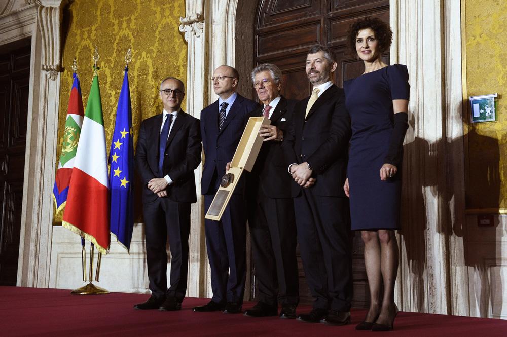 Adolfo Guzzini riceve il Premio Leonardo 2017