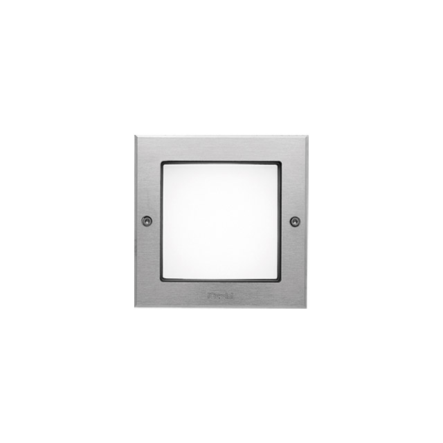 marco de acero inoxidable con tornillos cuadrada