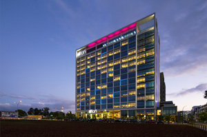 Das Aloft Hotel wird zum Milestone in der Stadtlandschaft
