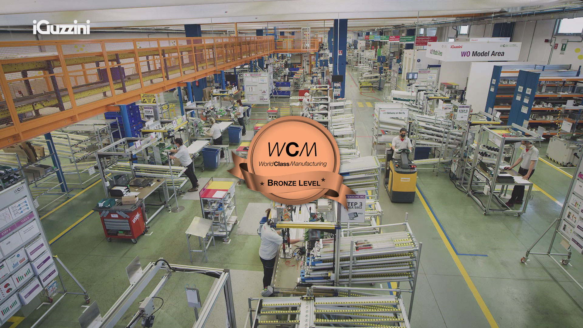 An important production standard qualification for our plant in Recanati
