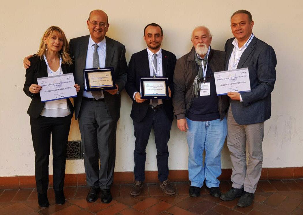 Premio imprese per la sicurezza 2019 premiazione iGuzzini