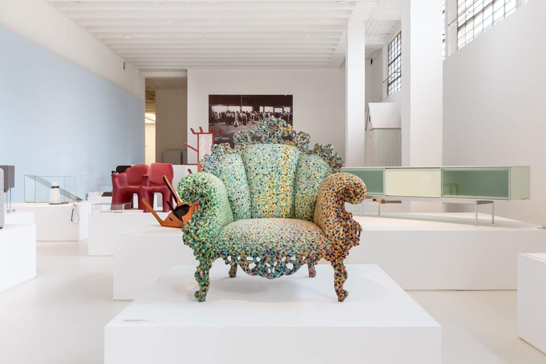 Die Strahler Palco von iGuzzini beleuchten das Musem für Italienisches Design