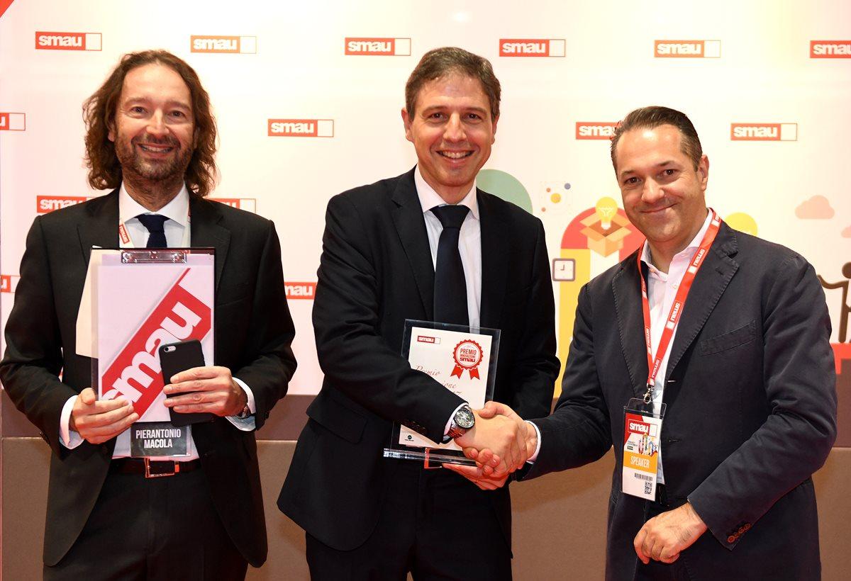 """iGuzzini won the """"Premio Innovazione"""" SMAU 2017"""